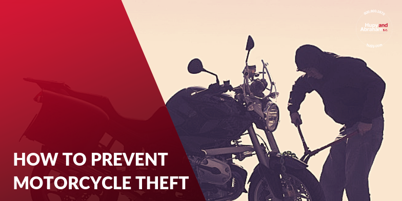 thief stealing a motorcycle - how to prevent motorcycle theft
