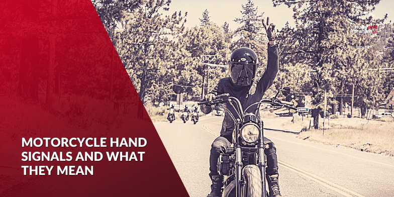 Motorcycle Hand Signals And What They Mean
