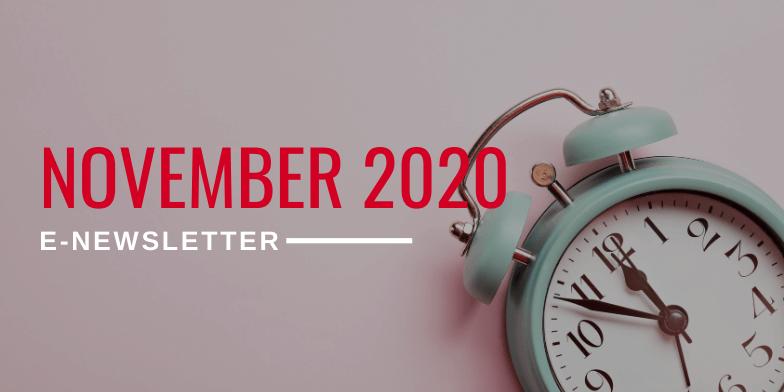 November 2020 E-Newsletter