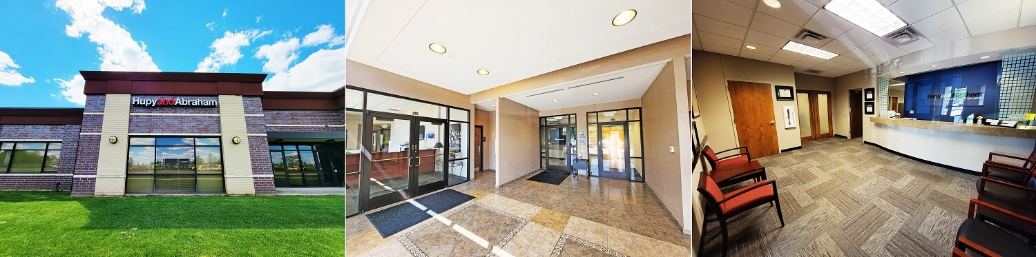 Our Rockford personal injury law office and reception area