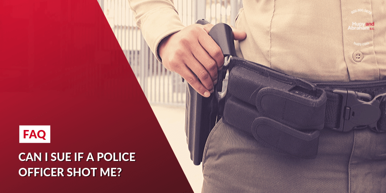 Can I sue if a police officer shot me?