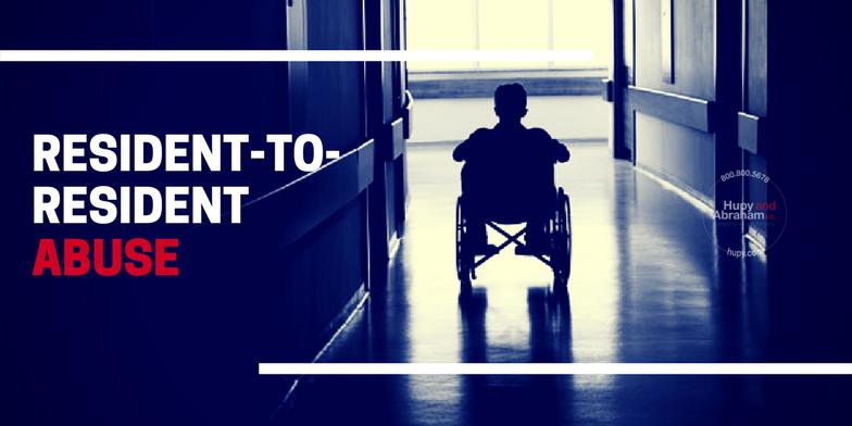 Nursing Home resident in wheel chair