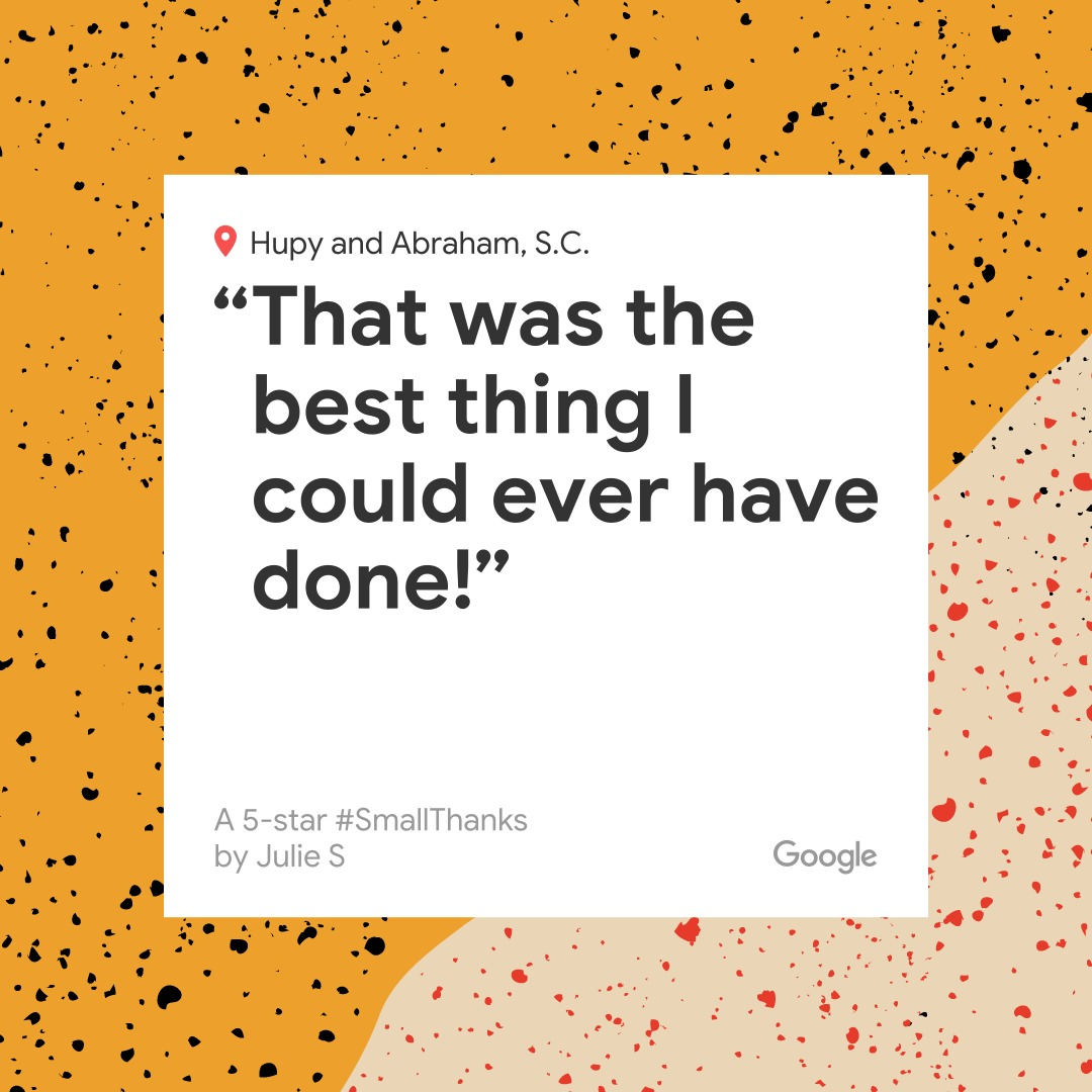 A 5 star Google review from our Wausau, WI client!