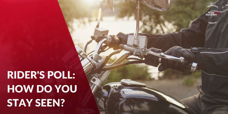 How Do You Stay Visible On Your Motorcycle?