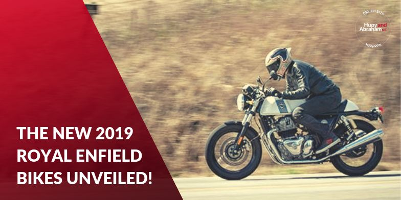 Royal Enfield Unveils 19 Continental GT and Interceptor 650