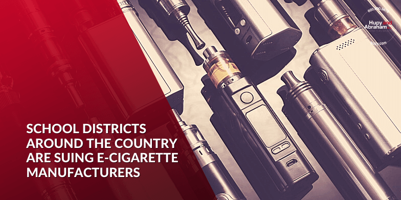 School Districts Around the Country Are Suing E-Cigarette Manufacturers