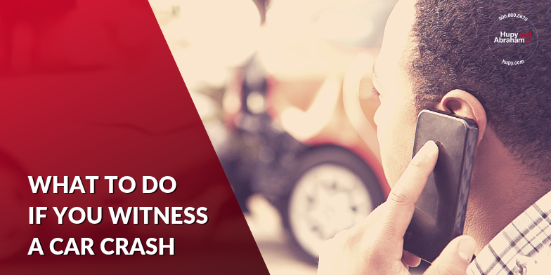 You have important duties if you witness a car accident.