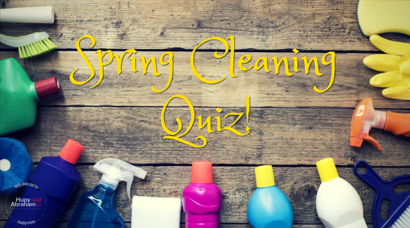 Spring Cleaning Quiz