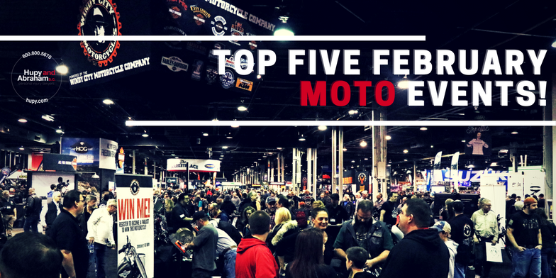 Check out 5 huge motorcycle events to look forward to this February