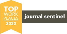 Journal Sentinel Top Workplaces 2020 award logo