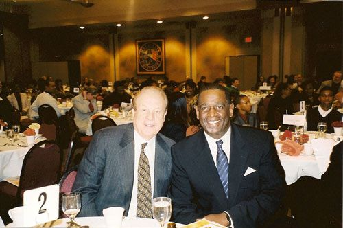 Attorney Michael Hupy and Ulice Payne, Jr.