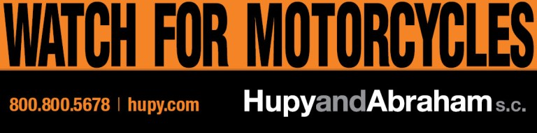 Hupy & Abraham Watch For Motorcycles