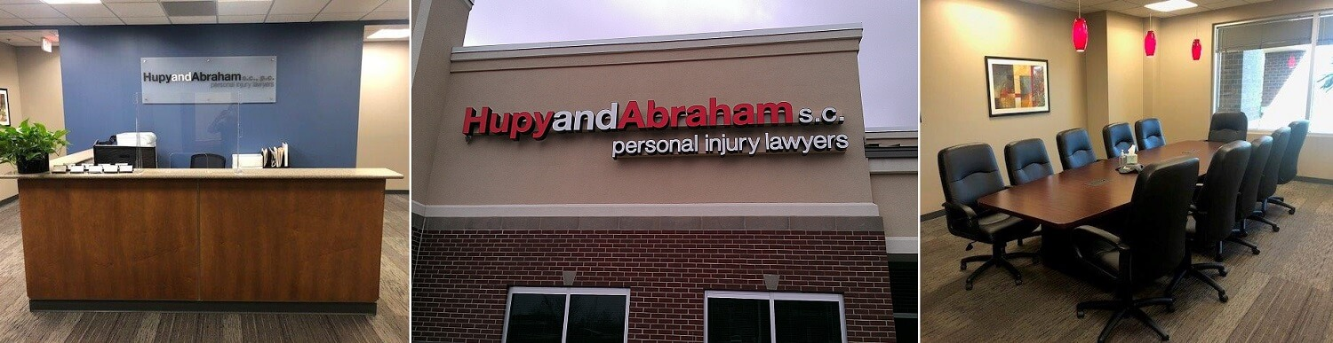 Hupy and Abraham's personal injury law office in West Des Moines, Iowa