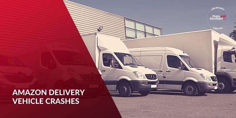 Amazon Delivery Vehicle Crashes