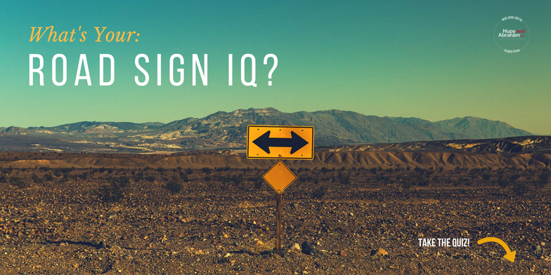 What's Your Road Sign IQ?