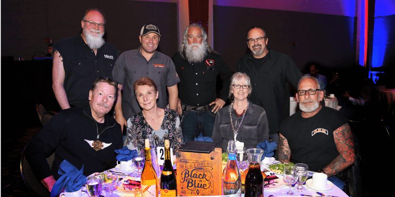 Hupy and Abraham, S.C. has participated in the MDA Black-N-Blue Ball for over a decade