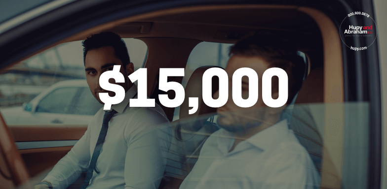 $15,000 Settled To Cover Injuries From Uninsured Vehicle Crash