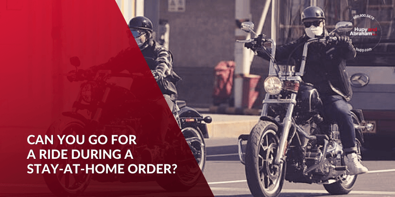 Can You Go For a Ride During a Stay-at-Home Order?