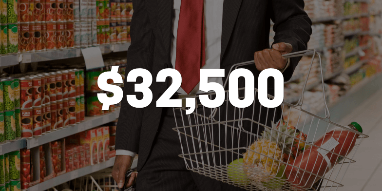 $32,500 For Client After Grocery Store Fall