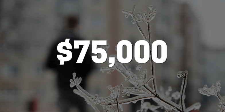 Client Injured on Ice Receives $75,000 From Negligent Condo's Insurance Company