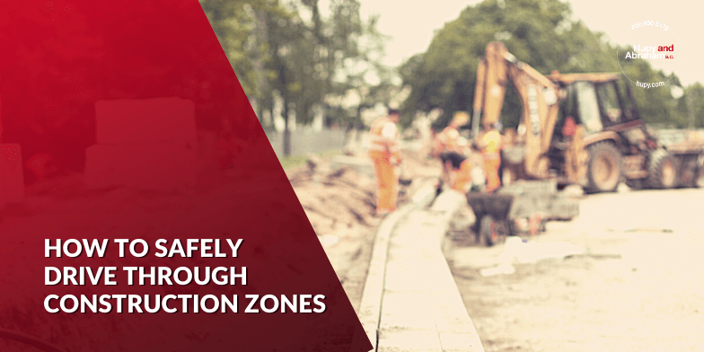 how to safely  drive through construction zones
