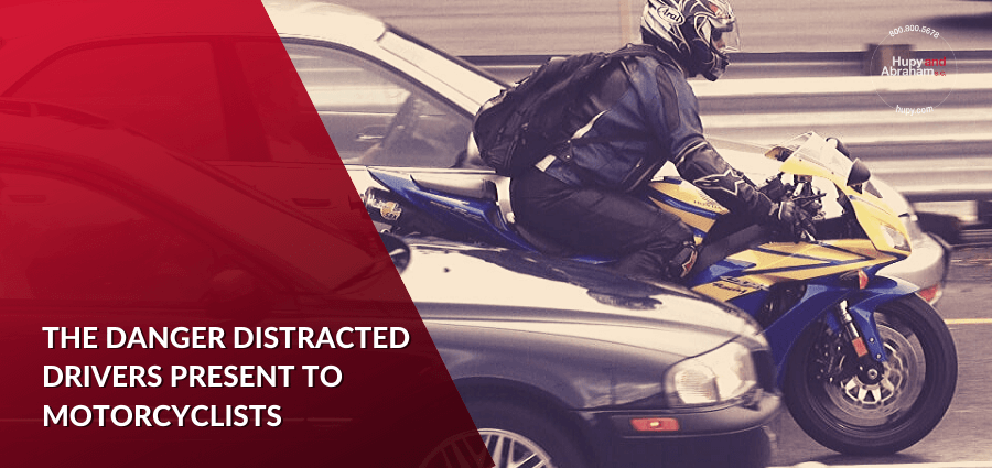 The Danger Distracted Drivers Present to Motorcyclists