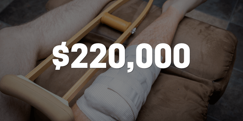 $9,900 Turned to $220,000 Even With Prior Injury