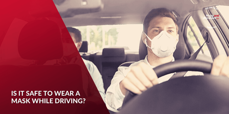 Is it safe to wear a mask while driving?