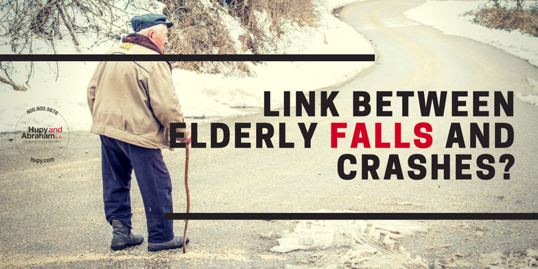 falling and crashing elderly motorists