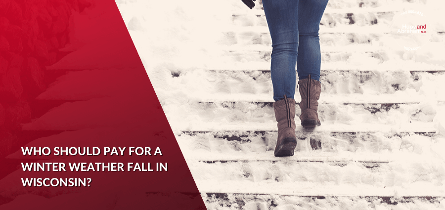 Winter Snow and Ice Slip and Fall Accidents