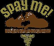 Logo of spay me company thanking Hupy and Abraham