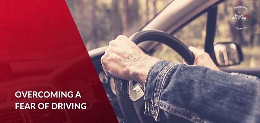 scared drivers aren't safe, tips for scared drivers