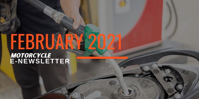 Hupy and Abraham Biker Newsletter Feb 2021