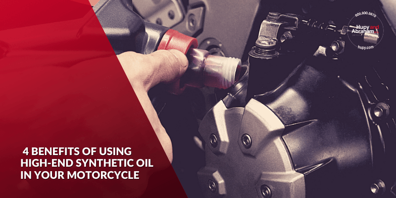 benefits of using high-end synthetic oil for your motorcycle