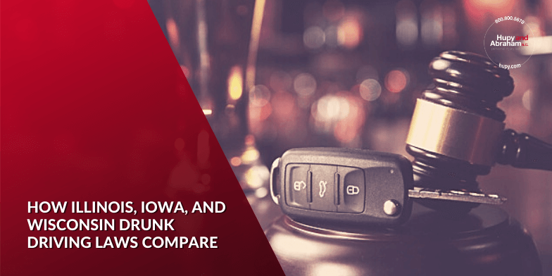 How Illinois, Iowa, and Wisconsin Drunk Driving Laws Compare