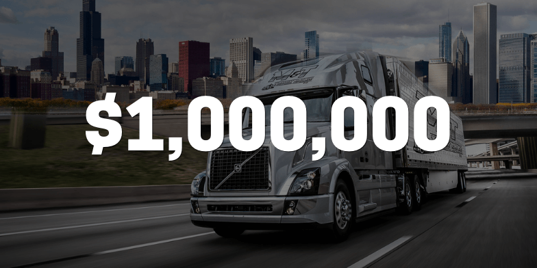 $1,000,000 for Clients Rear-Ended by Semitruck