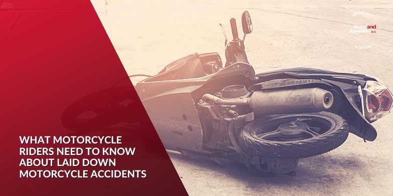 What Motorcycle Riders Need to Know About Laid Down Motorcycle Accidents