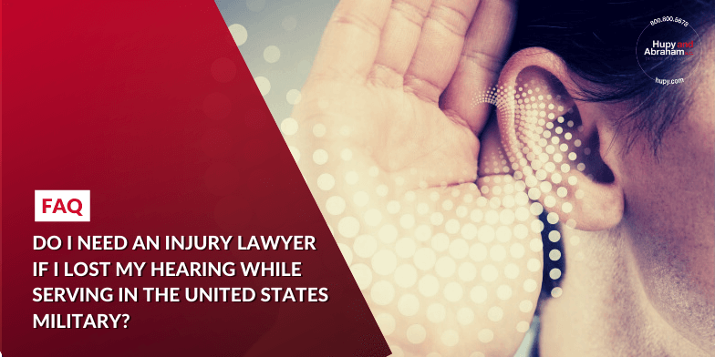 How a Lawyer May Help After a Military Hearing Injury