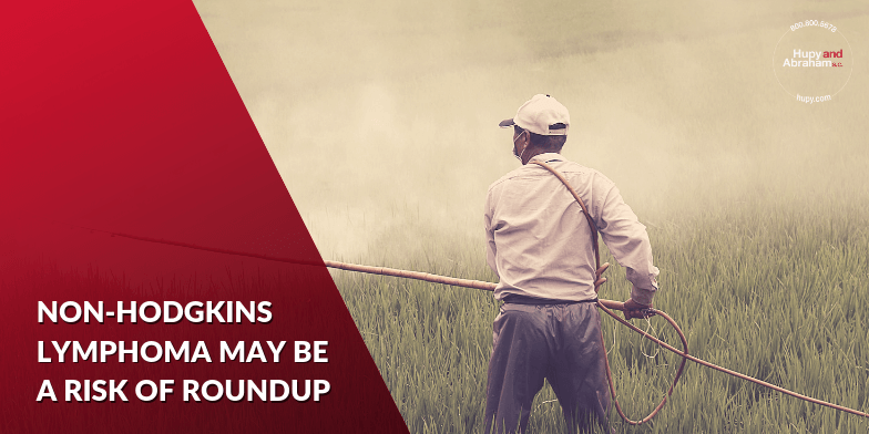 Cancer diagnosis possible in those who have used Roundup for work.