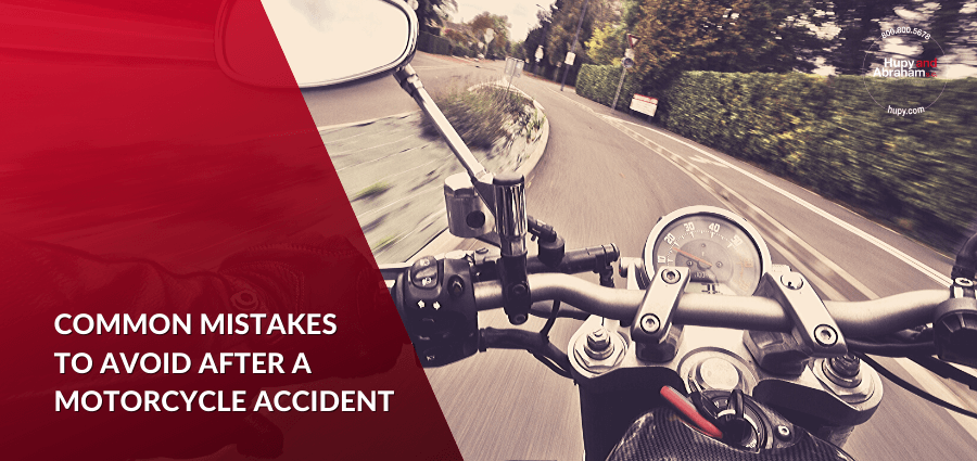 Mistakes to Avoid After a Motorcycle Accident