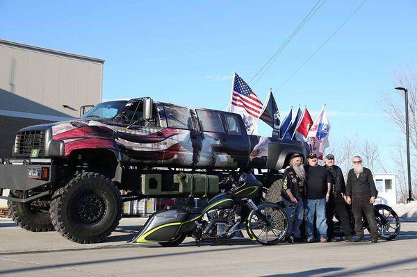 Veteran Tribute Monster Truck