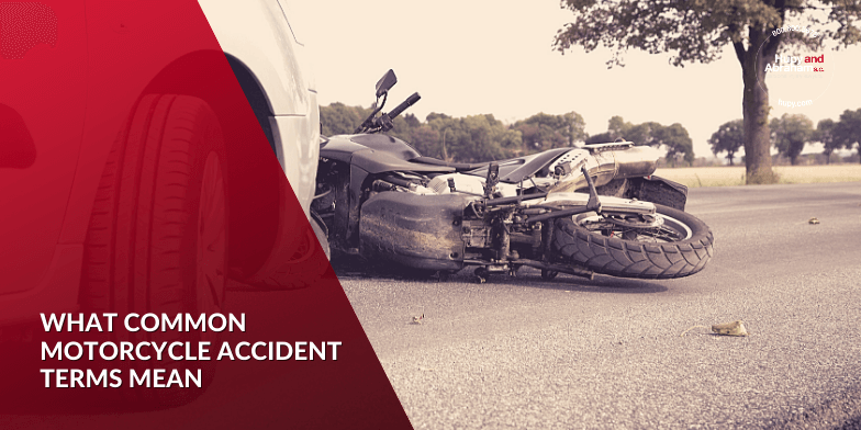 What Common Motorcycle Accident Terms Mean