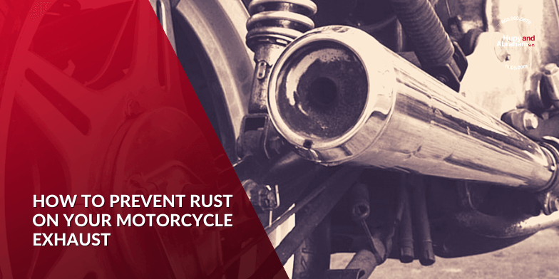 4 Ways To Prevent Rust On Motorcycle Exhaust