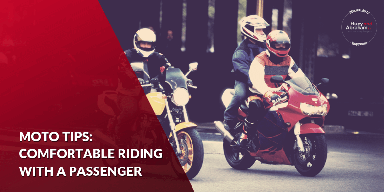 How to Comfortably Ride A Motorcycle with a Passenger