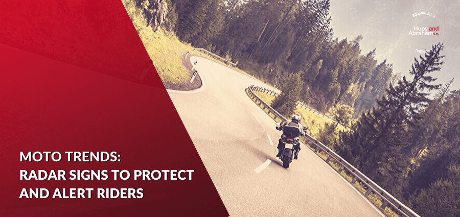Radar-Equipped Signs Intend to Prevent Motorcycle Accidents