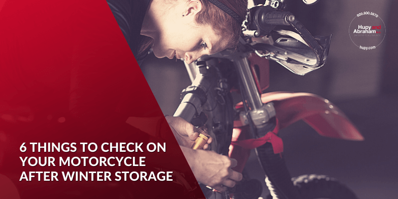 6 things to check on your motorcycle after winter storage