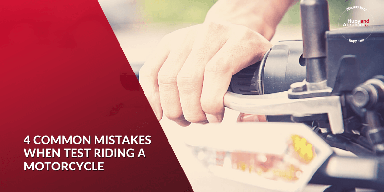 Four Common Mistakes When Test Riding a New Motorcycle