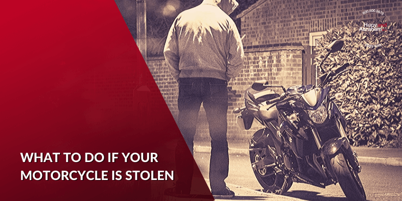 Steps to Take After a Motorcycle Theft
