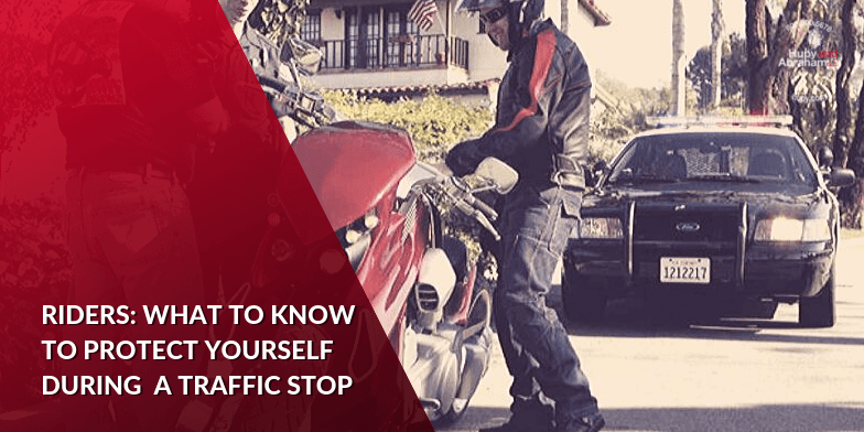 How Riders Can Be Prepared For A Traffic Stop