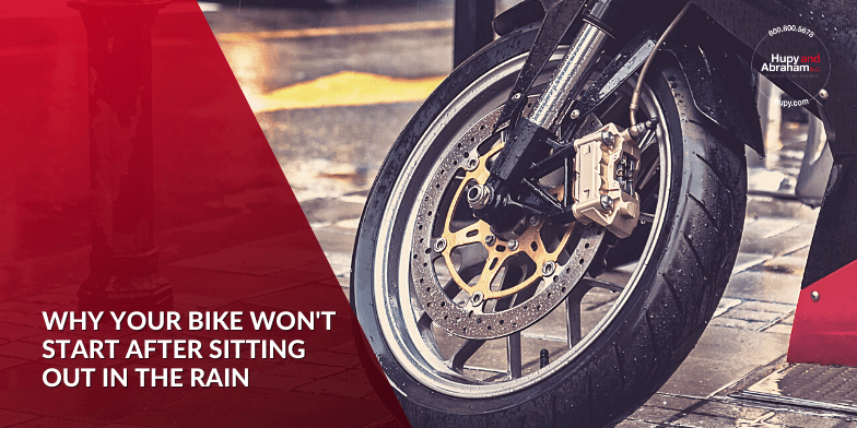 Why Your Bike Won't Start After Sitting Out In The Rain